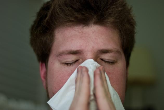 Giant Sneeze Man OTS