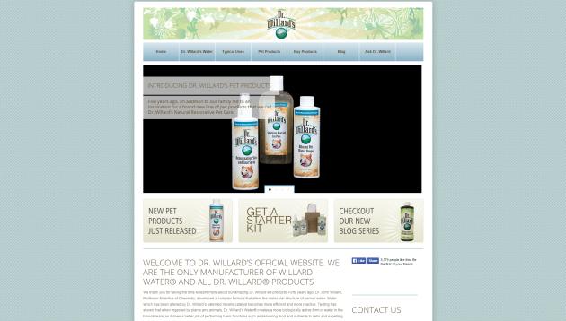 Dr. Willard's Website