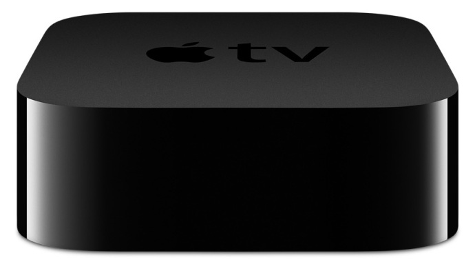 Closeup of Apple TV